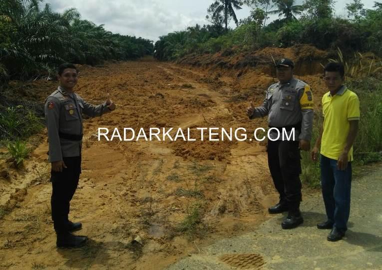 Penggunaan Dana Desa Sembikuan Diawasi Kepolisian Sukamara