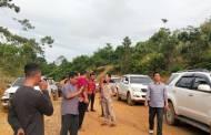 Pembangunan Jalan Tumbang Samba-Tumbang Sanamang Ditangani Provinsi