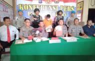 Polisi Buru Bandar Besar Pemasok 180 Paket Sabu-sabu