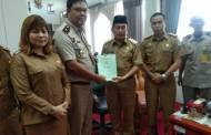 BPN Serahkan 3.249 Sertifikat Aset Pemerintah Kabupaten Mura