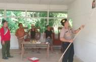 Camat Murung dan Kapolsek Ajak Warga Bergotong-Royong