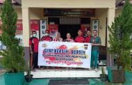 Cegah Penyebaran Virus Corona, Kapolres Ajak Masyarakat Bersih-bersih