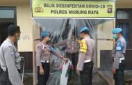 Cegah Penyebaran Covid-19, Polres Mura Sediakan Bilik Disinfektan