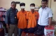 Aksinya Terekam CCTV, Dua Pembobol Sarang Walet Ditangkap Polisi