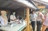 Antisipasi Virus Corona, Polsek Murung Terus Pantau Posko Kesehatan