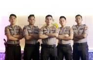 Lewat Lagu, Band Polres Kobar Edukasi Masyarakat Cegah Covid-19