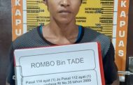 Bawa Dua Paket Sabu, Rambo Ditangkap di Timpah