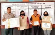 Peduli Pandemi Covid-19, GGD Kabupaten Seruyan Berikan Bantuan APD