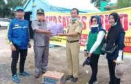 Dukung Satgas Covid-19, Anggota DPRD Berikan Bantuan