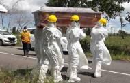 Pasien Bronkitis Meninggal Dunia, Pemakaman Gunakan Protokol Covid-19