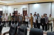 DPRD Kapuas Terima Kunjungan DPRD Tapin