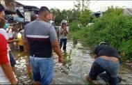 """Banjir """"Makan"""" Korban, Pemuda Ini Tenggelam di Selokan"""