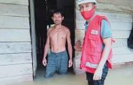 Curah Hujan Tinggi, Belasan Rumah di Desa Nibung Terjun Terendam Banjir
