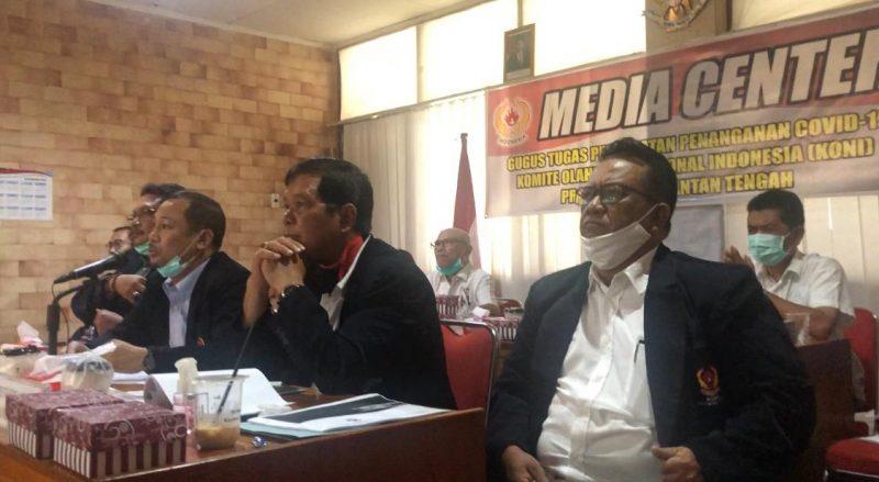 Rapat KONI se-Indonesia, Kalteng Sampaikan Berbagai Usulan
