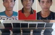 Bobol SMK-1 Sebangau Kuala, Tiga Pencuri Bawa Kabur Puluhan Unit Labtop