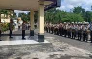 Alarm Stering Mendadak, Personel Polres Sukamara Sangat Siap dan Sigap
