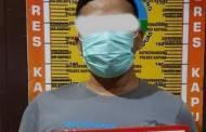 Bawa 0,57 Gram Sabu , Dono Ditangkap Satresnarkoba Polres Kapuas