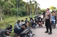 Patroli Rutin, Ditsamapta Kembali Amankan 29 Pelaku Balapan Liar di Bandara