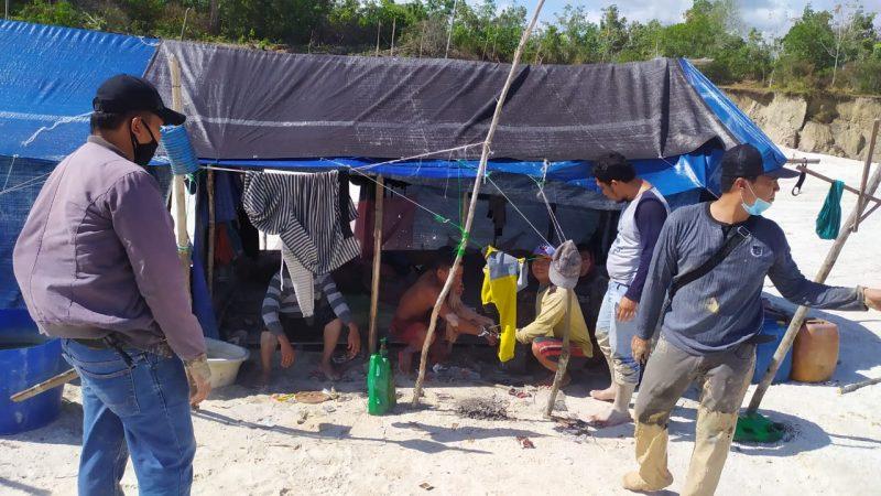 Diduga Lakukan Aktivitas PETI di Timpah, Empat Warga Diamankan Polisi