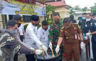 Polres Sukamara Musnahkan 89 Gram Barbuk Sabu-sabu