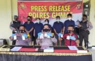 Polres Gumas Ringkus 30 Tersangka Narkoba, Tujuh Diantaranya Perempuan