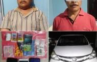 Pengedar Narkoba Antar Provinsi Dihentikan di Depan Kantor Polisi