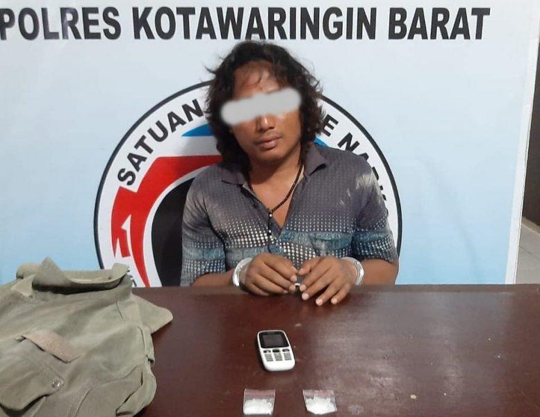 Tidak Sampai 24 Jam, Polres Kobar Kembali Ciduk Pelaku Sabu