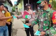 Polsek Murung Gencar Sosialisasi Wajib Gunakan Masker