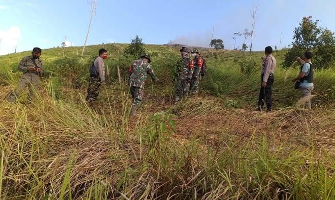 Antisipasi Karhutla, TNI-Polri Lakukan Patroli Bersama