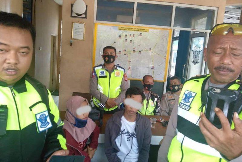 Mau ke Banjarbaru, Penganiaya Anak Kandung Diringkus Satlantas Polresta Palangka Raya