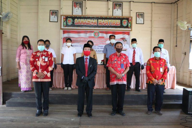 Terapkan Protokol Kesehatan, Bupati Lantik Anggota BPD dari Tiga Kecamatan