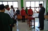Wabup Sunardi Lantik Anggota BPD Sembilan Desa di Kecamatan Katingan Kuala