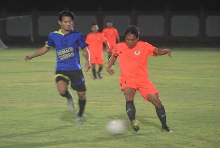 Hadapi Porwanas 2021, Atlet SIWO Kalteng Jajal Lapangan Malam Hari