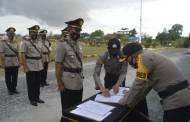 Enam Jabatan Perwira di Jajaran Polres Katingan Dirotasi