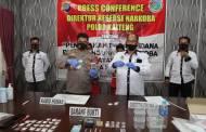 Miliki 38 Paket Sabu, Dua Pengedar Jaringan Antar Provinsi Dibekuk Polisi