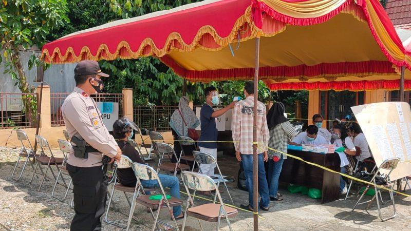 Pencoblosan Kondusif, 26 TPS Disiplin Terapkan Prokes