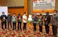 KPU Tetapkan HARATI Pemenang Pilkada Kotim