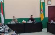 Satgas Penanganan Covid – 19 Kabupaten Katingan Gelar Rapat Evaluasi