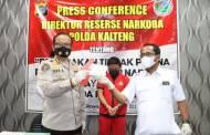 Geledah Dua TKP, Polisi Sita Ratusan Paket Sabu