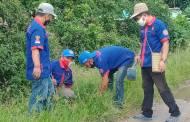 Peduli Lingkungan, Fordayak dan Batamad Katingan Lakukan Penanaman Pohon