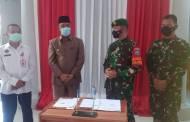Pemkab Sukamara Hibahkan Tanah ke TNI AD
