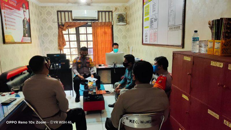 Polsek Murung Fokus Empat Program Polda Kalteng