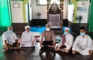 Sosialisasi Prokes Covid-19, Polsek Danau Sembuluh Sambangi Tokoh Agama