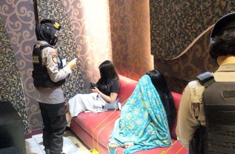 Antisipasi Ganguan Kamtibmas, Polisi Razia THM dan Eks Lokalisasi Pal 12