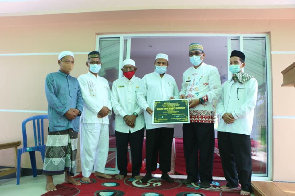 Wakil Bupati Katingan Resmikan Masjid Imam Safii Kasongan