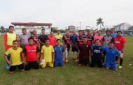 Tingkatkan Keakraban, Polres Seruyan dan PWI Gelar Laga Sepak Bola Persahabatan
