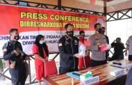 Hasil Pengungkapan di Kotim dan Kapuas, Polisi Amankan 3,5 Ons Sabu