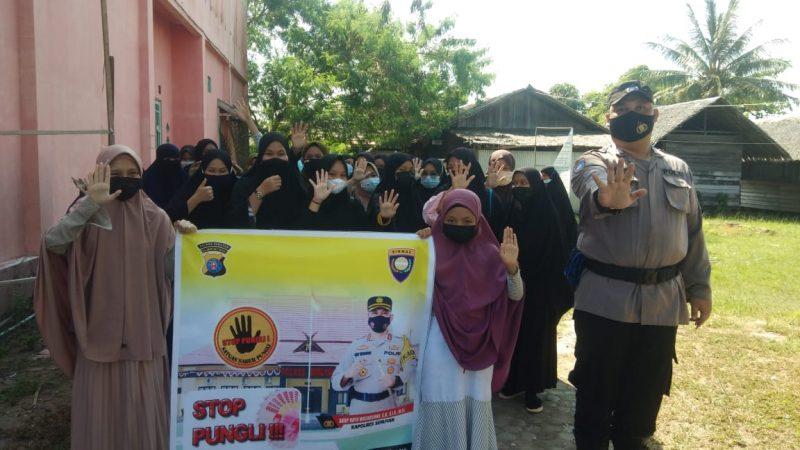 Satbinmas Sosialisasikan Saber Pungli di Yayasan Daarulssalaam
