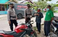 Jelang Pilkades, Satbinmas Sapa Masyarakat di Kantor Desa Sungai Undang