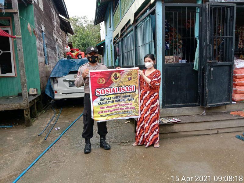 Bhabinkamtibmas Desa Muara Sumpoi Ajak Warga Binaan Tidak Lakukan Pungli